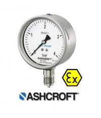 Pressure Gauge T6500-Dial 100 , 10 bar
